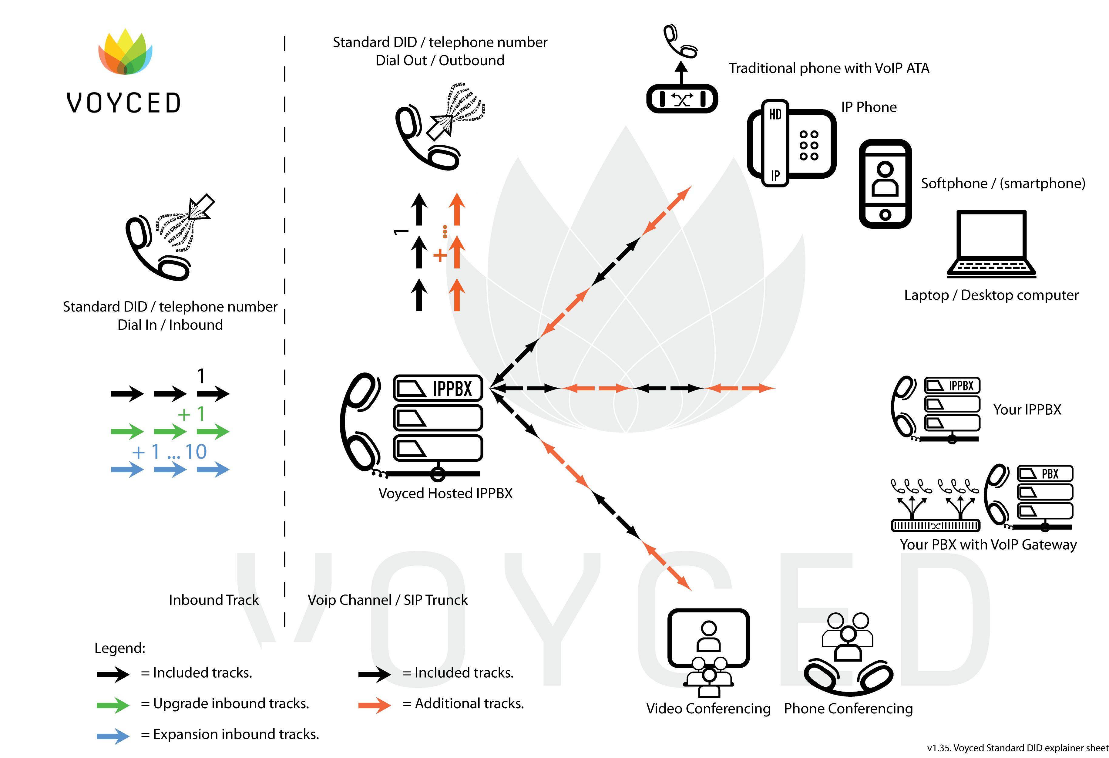 Voyced Standard DID explainer sheet