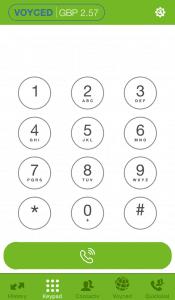 Voyced SoftPhone iOS dialer